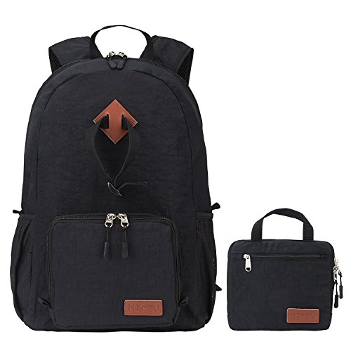 Homfu Foldable Backpack for Travel Packable Day...