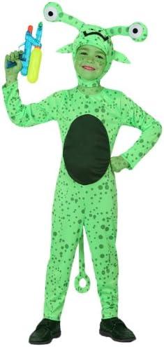 Atosa-16088 Disfraz Alien, color verde, 7 a 9 años (16088): Amazon ...