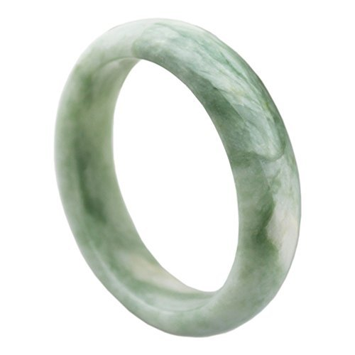 FOY-MALL Natural Jade Bangle Bracelet E1276, used for sale  Delivered anywhere in Canada