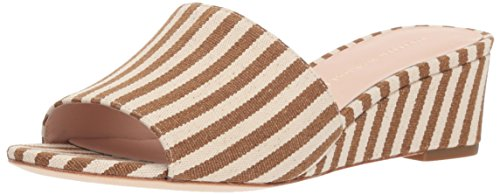 Loeffler Wovenstripe Women's Sandal Tilly Heeled Randall Artisan Natural Amber Hq6qAO