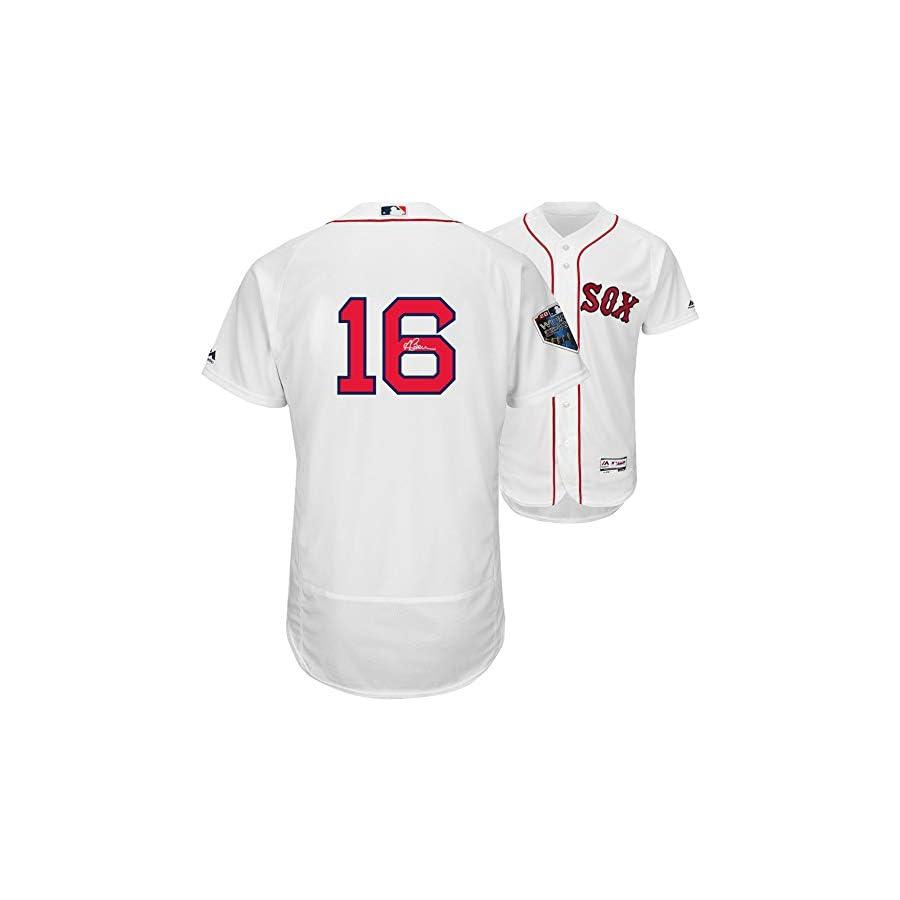 Andrew Benintendi Boston Red Sox 2018 MLB World Series Champions Autographed Majestic White Authentic World Series Jersey Fanatics Authentic Certified