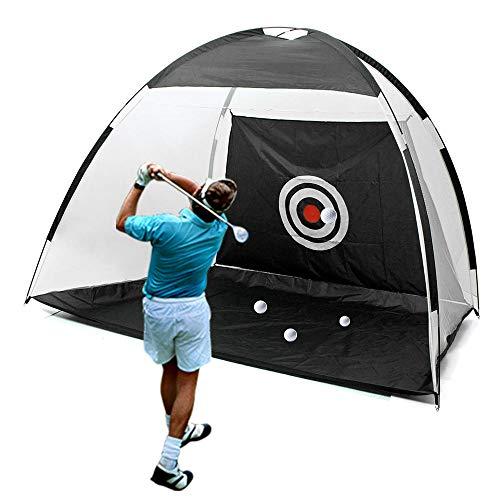 Monarchy Golf Net, 6.5ft Golf Practice Hitting Net, Outdoor/Indoor Foldable Golf Cage Garden Grassland Practice Tent…