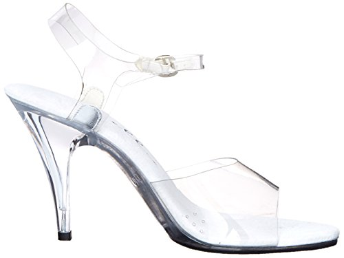 Zapatillas Ellie Zapatos Mujeres 405 Brook Dress Sandal Clear