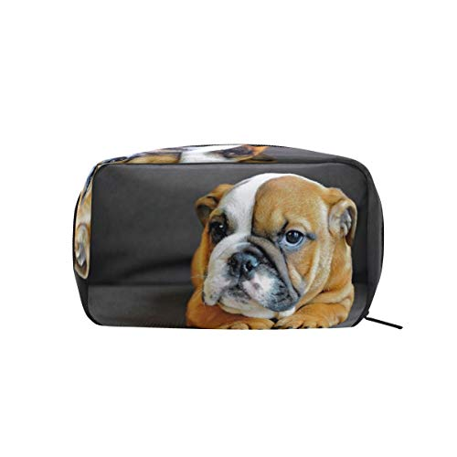 Amazon.com : Bulldog Cosmetics Bag Makeup Bag Case Pouch for Makeup Utensils And Toiletries : Beauty