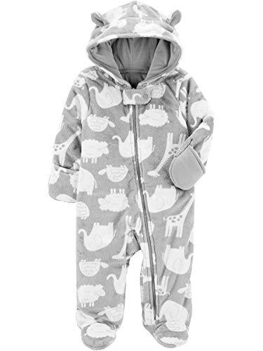 Simple Joys by Carter's Baby Fleece Footed Jumpsuit Pram