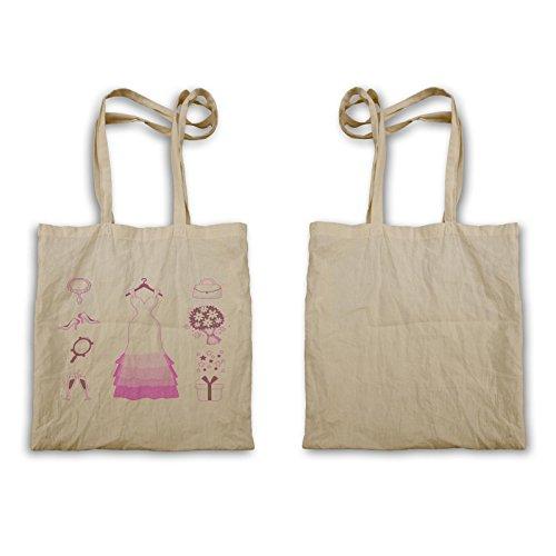 Sposa Bridal Shower Amore Novità Divertente Carry Bag A946r