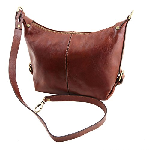 Tuscany Red Leather hobo Sabrina TL141479 Leather bag YYwqrad