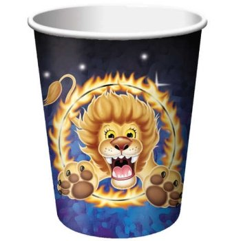 Big Top Circus 9oz Hot/Cold Cups