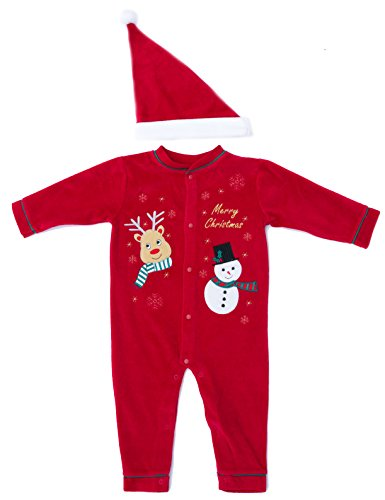 3802 18M Just Love Baby Coveralls Reindeer With