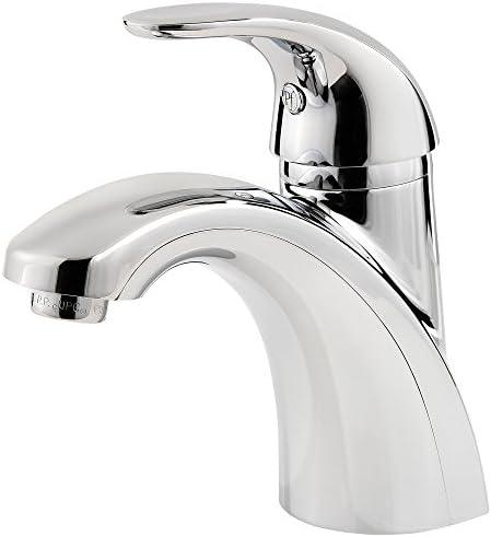Pfister LF-042-PRCC Parisa Single Control 4 Centerset Bathroom Faucet in Polished Chrome, 1.2gpm