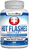 Menopause Support and Relief. Supports Hot Flashes,Mood Swing,Night Sweats,Disturbed Sleep. with Black Cohose,Dong Quai,Licorice Root.60 Caps.Made in USA.