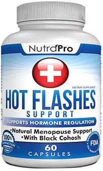 Menopause Support and Relief. Supports Hot Flashes,Mood Swing,Night Sweats,Disturbed Sleep. with Black Cohose,Dong Quai,Licorice Root.60 Caps.Made in -