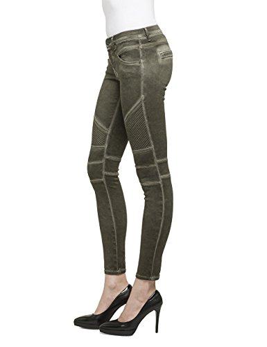 Da Replay One Donna Green Verde 677 Jeans Off military TqtzwxqOr