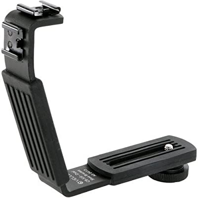 Vello CB-510 Dual Shoe Bracket with Silicon Rubber Grip from Vello