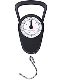 AccuDial No Batteries Accurate Easy Reading Analog Compact Handheld Luggage Scale