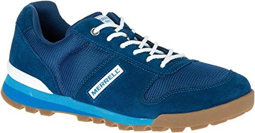 Merrell Solo J91243 Chaussures homme Baskets mode Sneakers, Poseidon Blue (Bleu) (45)