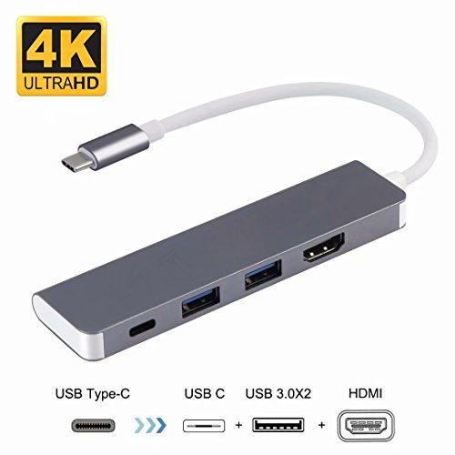 USB C to HDMI Adapter for Samsung DeX Station Desktop Experience for Galaxy Note8/S8/S8+/S9/S9+, Nintendo Switch, MacBook Pro 2016 2017
