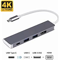 USB C to HDMI Adapter for Samsung DeX Desktop Experience for Galaxy Note 9/Note 8/S8/S8+/S9/S9+, Nintendo Switch, MacBook/MacBook Pro 2016 2017 2018