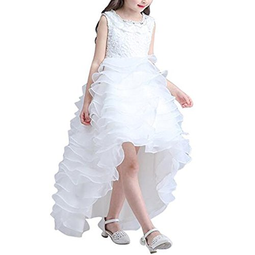 Kalos Dress Shop Hi-Low Girls Fancy Holy First Communion Dress 2-12 Year (Holy Communion Dresses Shops)