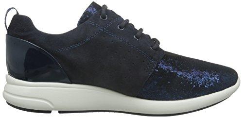 Geox blackc4367 A Blau D dk Zapatillas Mujer Para Ophira Navy rqr47zpw