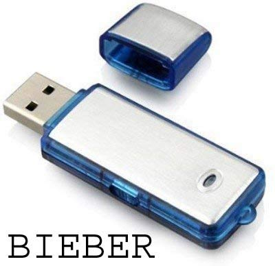 BIEBER Krazzy Collection 4GB Flash Drive/USB Voice Recorder (B01EJS1U02) Amazon Price History, Amazon Price Tracker