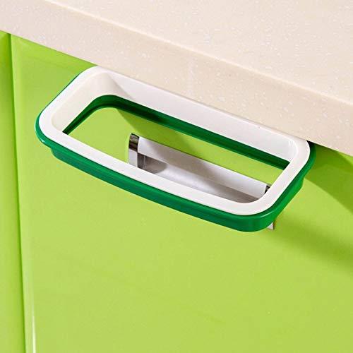Garbage Bag Rack - Hanging Cupboard Door Cabinet Tailgate Stand Storage Garbage Bags Rack - Rack Bags Holder Garbage Storage Storage Holders Racks Rack Holder Cutlery Paper Steel Stainless (Wall Cabinet Amanda)