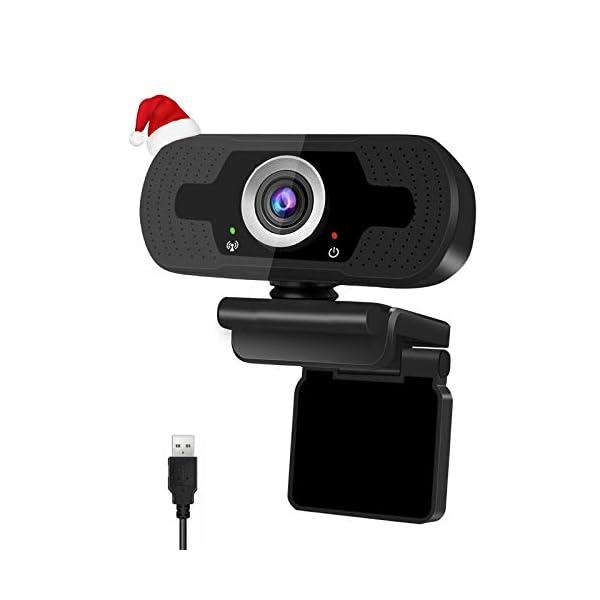 RUSFEIDA 1080p HD Webcam U3 Computer PC USB Desktop Laptop Camera for Video Calling Conference Online classes