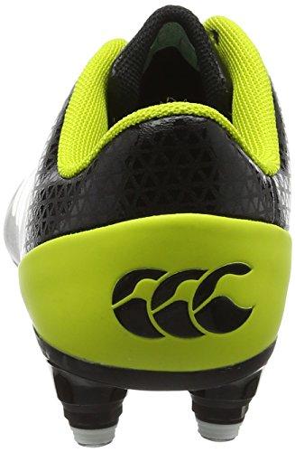 Canterbury Stampede 2.0 Soft Ground, Zapatillas de Rugby Para Niños Negro (Black)