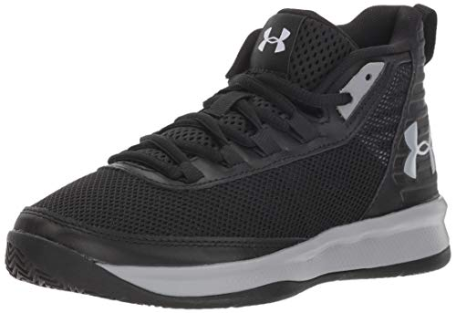 Under Armour Boys' Pre School Jet 2018 Basketball Shoe, (002)/Black, 13.5K M US Little Kid