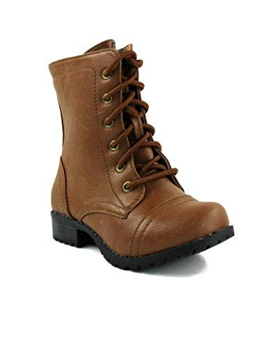 Kali Footwear Girl's Winner Jr. Lace Up Combat Boots 13 (Combat Child Boots)