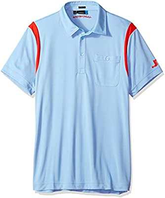 J.Lindeberg Mens Dolph Slim Fit Jersey Polo Shirt