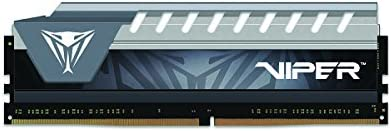 Memory Viper Elite Series DDR4 4GB 2400MHz Single Module Black//Grey PC4-19200
