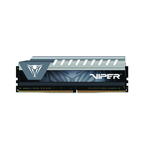 Patriot Viper Elite Series DDR4 16GB PC4-21300 2666 MHz Memory Module (Black/Grey) ()