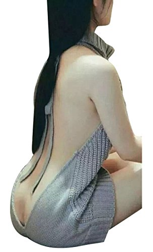 Pxmoda Womens Sleeveless Sweater Cosplay