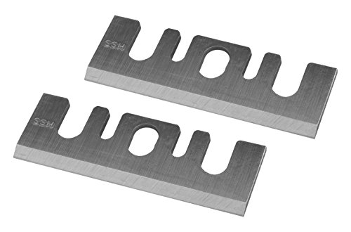 POWERTEC 128330 3-1/4-Inch HSS Planer Blades for Hitachi P20SBK, Set of 2