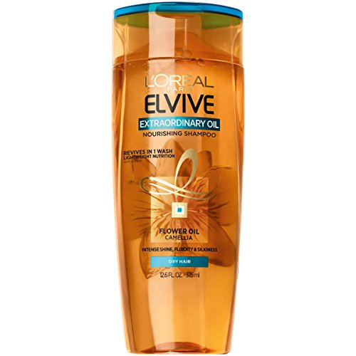 L'Oréal Paris Elvive Extraordinary Oil Nourishing Shampoo, 12.6 fl. oz. (Packaging May Vary)