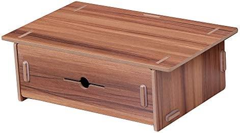 Stifthalter mit Schublade Aus Holz Schreibtischorganizer Schreibtischständer DE