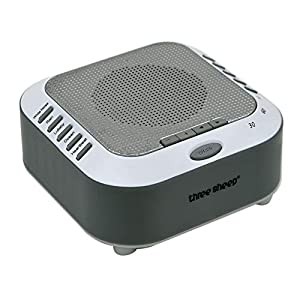 Adaptive Sound Technologies White Noise Sound Machine with 5 Soothing Sleep Therapy Sound Machine for Baby,Kids,Adults with Relaxation Sounds