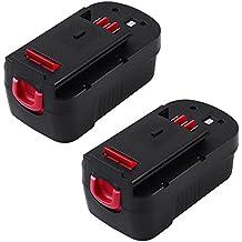 [Patrocinado] enermall 18V 3.0Ah Ni-MH batería de repuesto Herramientas Eléctricas Pack para Ryobi One + Taladro P100P101130224028130224007130255004ABP1803BPP-1813BPP-1817M BPP-1817/2BPP-1817M BPP-1820