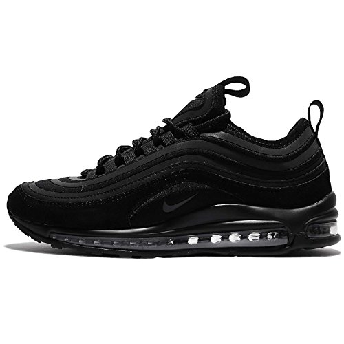 Nike Mens Air Max 97 Ultra 2017 Suede Trainers Schwarz