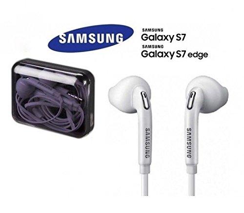 [White]New Original Samsung Galaxy S7 Edge S6 Note Headset Earphones Earbuds EO-EG920LW US SELLER | BUY 4 GET 1 FREE | LIMITED OFFER | - New Original