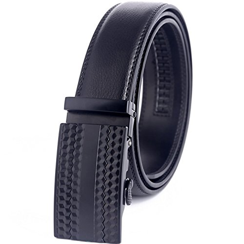 Belt Men Belt Leather Belt With Two Layers Of Cowhide Automatically Leather Length 100-135Cm