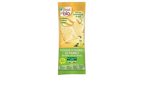 Probios Break&Bio Pan Ázimo de Espelta Sin Levadura - 6 paquetes: Amazon.es: Alimentación y bebidas