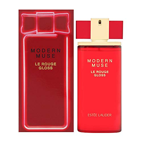 Estee Lauder Modern Muse Le Rouge Gloss By Estee Lauder for Women 3.4 Oz Eau De Parfum Spray, 3.4 Ounce, Red