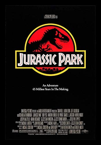 Jurassic World Classic Movie Premium METAL Poster Art Print Gift