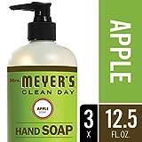 Beauty : Mrs. Meyer´s Clean Day Hand Soap, Apple, 12.5 fl oz, 3 ct