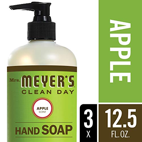 Apple Scented Body Wash - Mrs. Meyer´s Clean Day Hand Soap, Apple, 12.5 fl oz, 3 ct