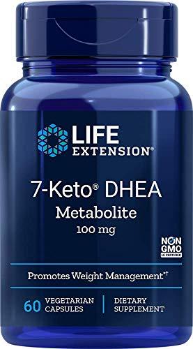 Life Extension 7-Keto dhea Metabolite, 60 Vegetarian Capsules (Life Extension 7 Keto Dhea Metabolite 25 Mg)