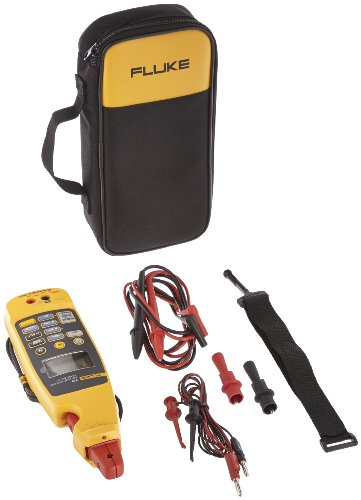 Fluke 772 Integrated Milliamp Process Clamp-Meter, 100mA DC, 0.01mA Resolution, Conductors to 4.5mm, Voltage Measurement (Meter Process Milliamp Clamp)