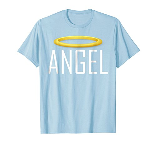 (Mens Angel Devil Best Friend T Shirt Tshirt T-Shirt Tee Shirt Fun 2XL Baby Blue)